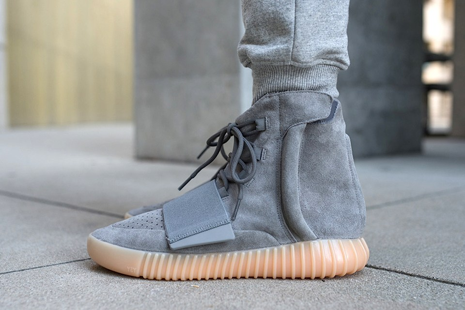 "sports shoes e16f0 9f582 发售提醒 adidas Originals Yeezy Boost 750""Light Grey"""