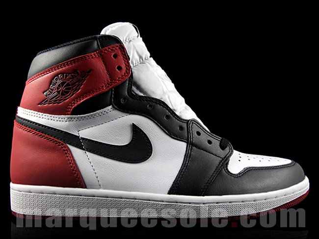10c6523f16cb 黑脚趾再现江湖Air Jordan 1 Retro High OG Black Toe