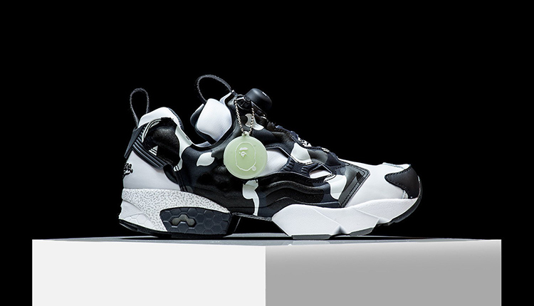 cheaper 77ff6 9adf6 A BATHING APE x mita sneakers x Reebok 全新联名Instapump Fury 鞋款