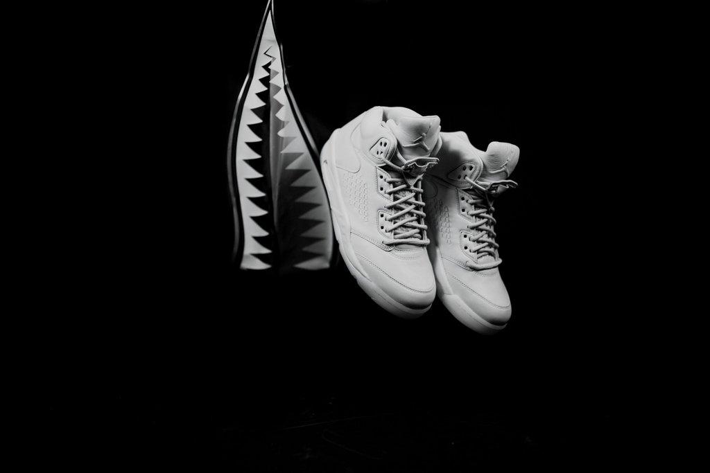 brand new ce769 9aa04 发售提醒  Air Jordan 5 Premium Pure Platinum