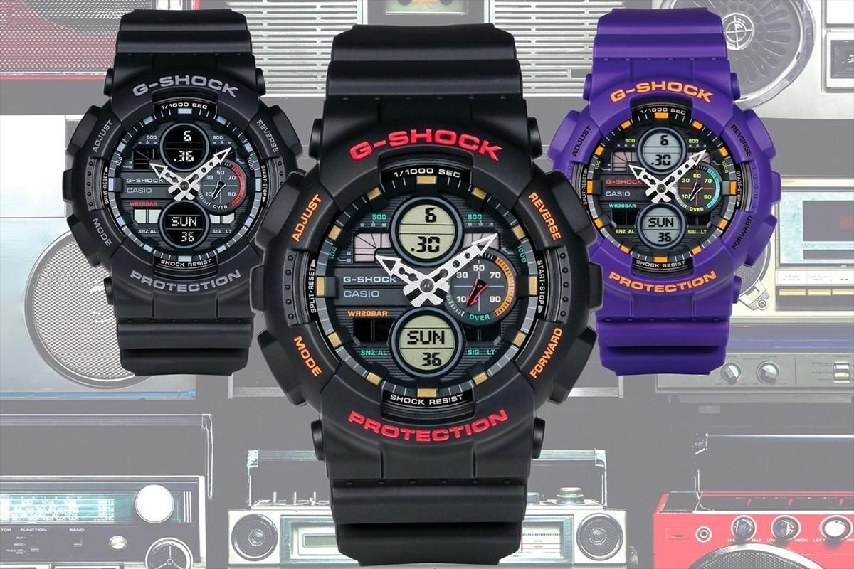 搭载复古科技感— G-Shock 揭露全新 GA-140 系列